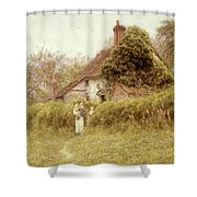 Cottage At Pinner Middlesex Shower Curtain