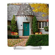 Cottage In The Park Shower Curtain