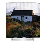 Cottage, Near Dunquin, Dingle Shower Curtain