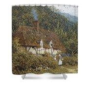 Cottage Near Witley Surrey Shower Curtain