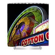 Cotton Candy Fun Shower Curtain