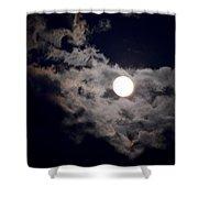 Cotton Moonlight Shower Curtain