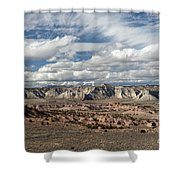 Cottonwood Canyon Badlands Shower Curtain