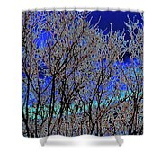 Cottonwood Line Up Shower Curtain