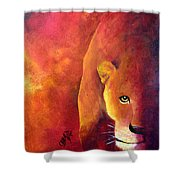 Cougar - Out Of The Shadows Shower Curtain