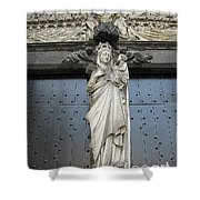 Count Your Blessings- St Mary Of Brugge- 01 Shower Curtain