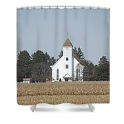 Country Church Shower Curtain