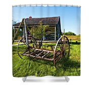 Country Classic Oil Shower Curtain