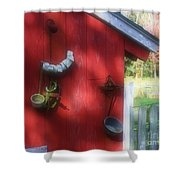Country Decorating Shower Curtain