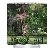 Country Garden Shower Curtain