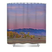 Country Morning Shower Curtain