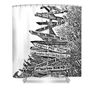Country Places Shower Curtain
