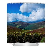 Country Road, Near Luggala Mountain, Co Shower Curtain