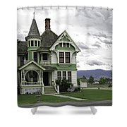 Country Victorian - Hamilton Montana Shower Curtain