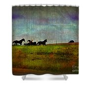 Country Wagon 2 Shower Curtain
