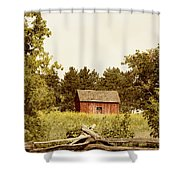 Countryside Shower Curtain by Margie Hurwich