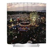 County Fair, Yakima Valley, Rides Shower Curtain
