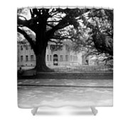Courthouse And Town Square- Woodville Mississippi Shower Curtain
