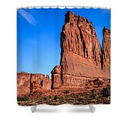 Courthouse II Shower Curtain
