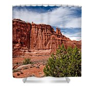 Courthouse IIi Shower Curtain