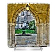 Courtyard Shower Curtain