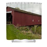 Covered Bridge Zumbrota 1 Shower Curtain