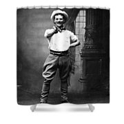 Cowboy, 1880 Shower Curtain