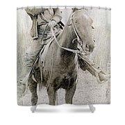 Cowboy Robber, C1900 Shower Curtain