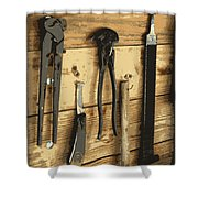 Cowboy's Tools Shower Curtain