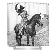 Cowgirl, C1920 Shower Curtain