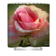 Coy Blush Shower Curtain