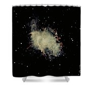 Crab Nebula Shower Curtain