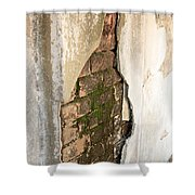 Crack In The Wall Shower Curtain