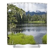 Crane Lake, Tongass National Forest Shower Curtain