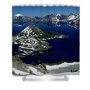 Crater Lake National Park, Oregon Shower Curtain