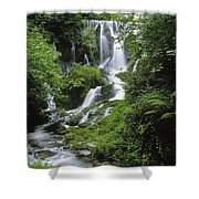 Crawfordsburn Country Park, Co Down Shower Curtain