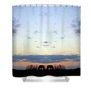 Creation 93 Shower Curtain