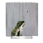Creation Rocks And Tremble Top And Base Shower Curtain
