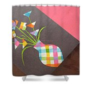 Creative Mind Unfolds  Shower Curtain