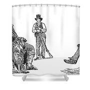 Creek Chiefs & Squatter Shower Curtain