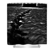 Creeping Lighthouse Shower Curtain