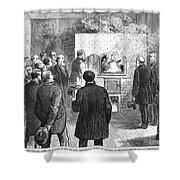 Cremation, 1876 Shower Curtain