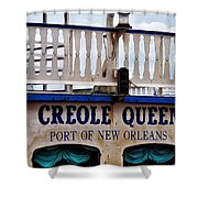 Creole Queen Shower Curtain