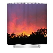 Crepuscule Shower Curtain