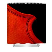 Crescendo Shower Curtain by Lisa Phillips