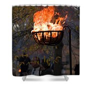 Cresset Giving Light Shower Curtain
