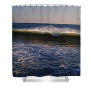 Cresting To The Glory Shower Curtain