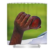 Cricket Anyone Shower Curtain