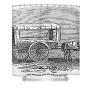 Crimean War: Ambulance Shower Curtain