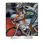 Criterium Bicycle Race 2 Shower Curtain